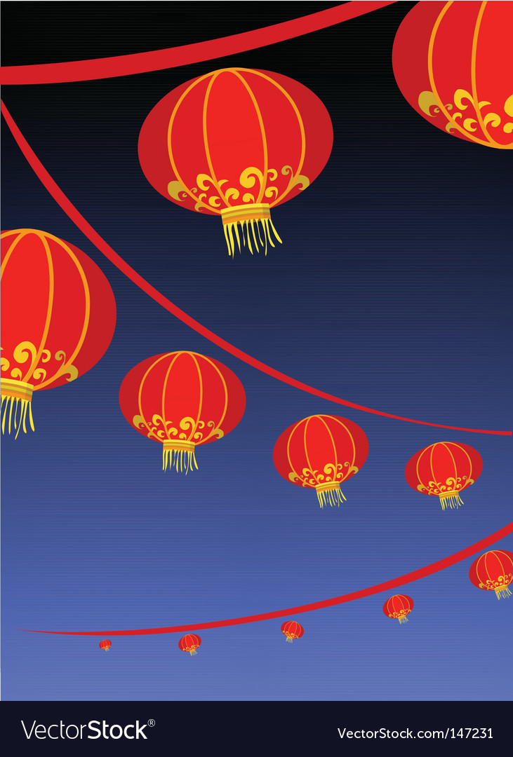 Chinese new year vector