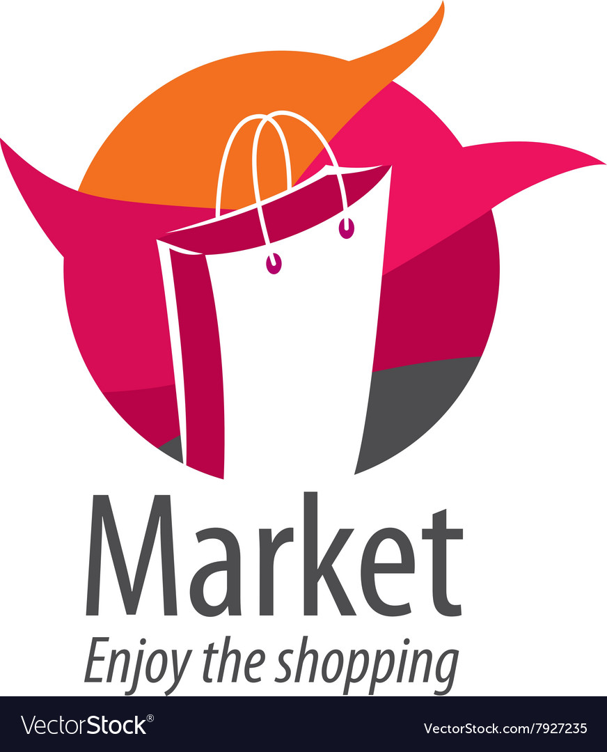Shopping logo vector