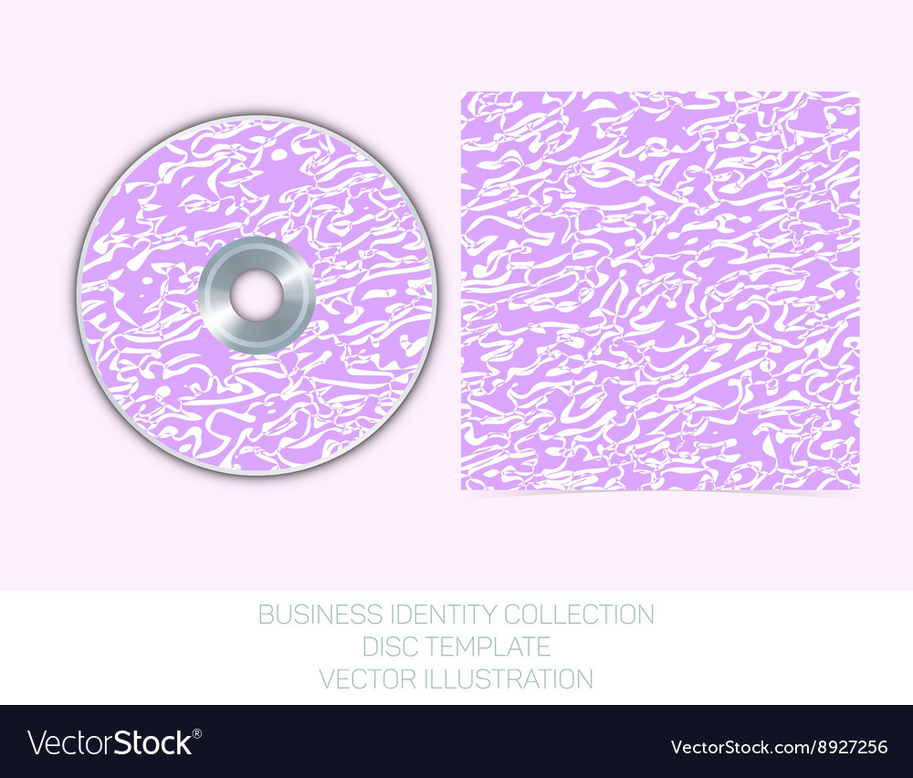 Business identity collection  mauve orchid vector