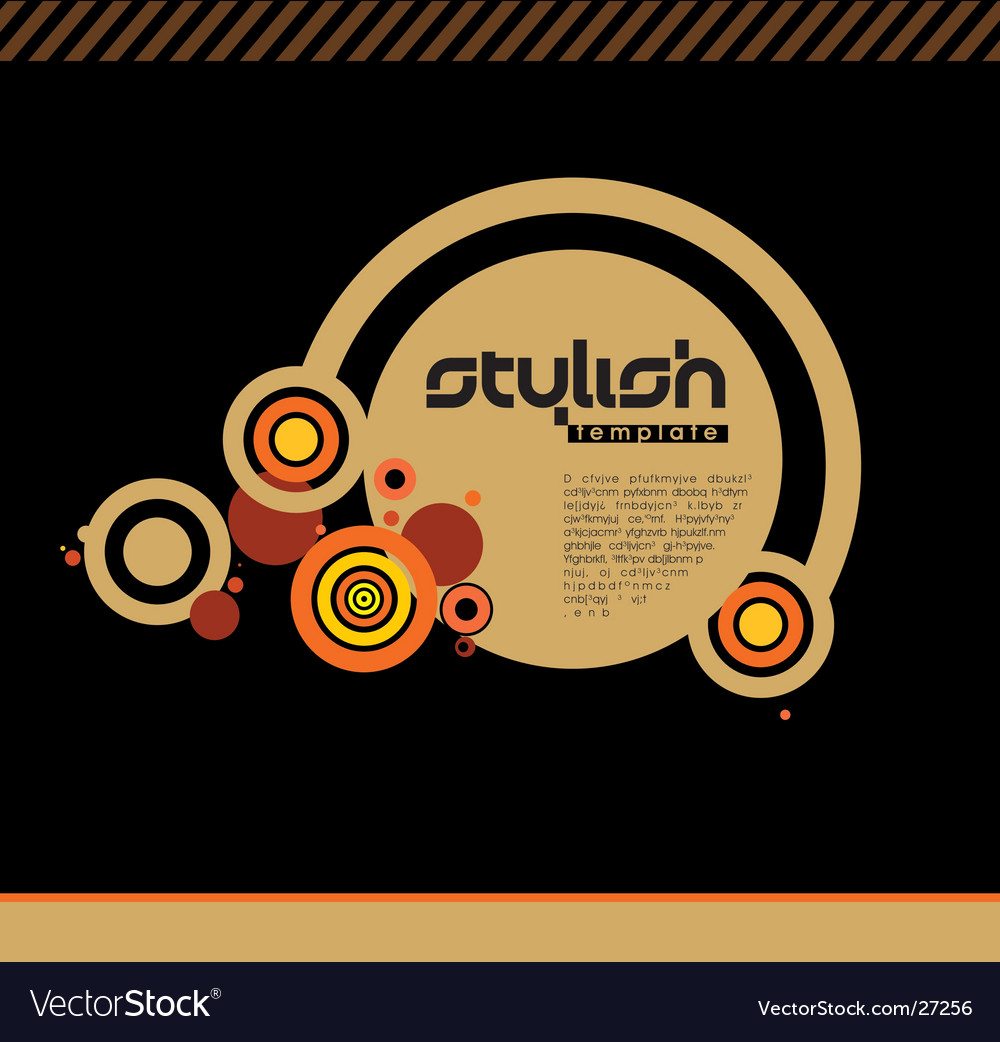 Stylish background vector
