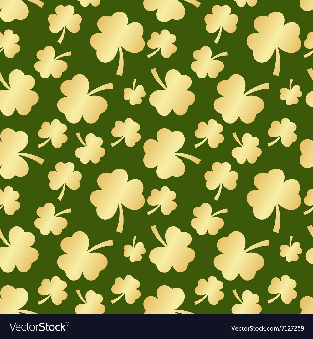 St patrick seamless vector