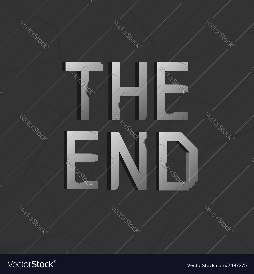 End text vector