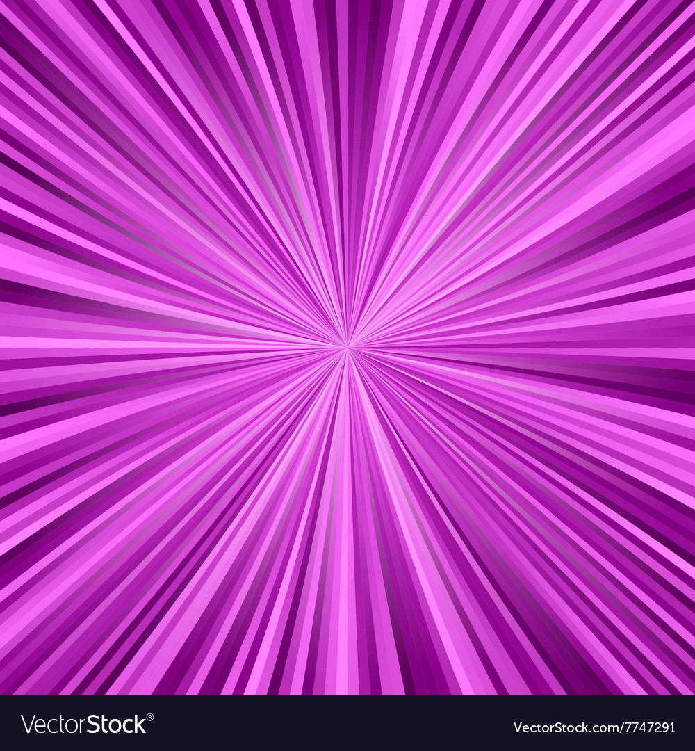 Magenta ray burst background vector