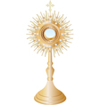 Monstrance vector image