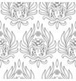 buddhism symbols seamless pattern vector image
