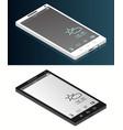 isometric generic smartphone vector image