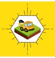 farm fresh isometric icon vector image