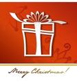 gift box icon silhouette vector image