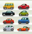 car icon set-3 vector image