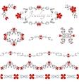 Jewelry decoration elements vector image