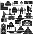 American Architecture-2 vector image vector image