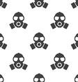 respirator seamless pattern vector image