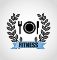 fitness sport vector image