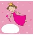 a beautiful fairy vector image