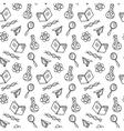 School laboratory background vector image