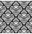 Damask wallpaper background vector image vector image