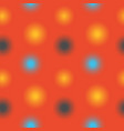 blurred lights seamless pattern vector image