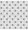 Simple imitation crochet polka dot vector image vector image