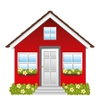 small house icon image vector image