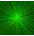 Light Green Rays Abstract Background vector image