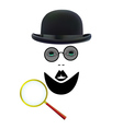 police detective character vector image