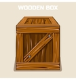 Wooden Box Cliparts game element vector image