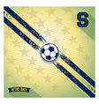 Retro sports design background vector image
