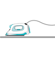 Ironing vector image