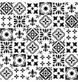 geometric tile design portuguese or spanis vector image vector image