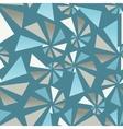Triangular torsion seamless pattern vector image