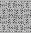 gray volumetric drops on a rainy background vector image
