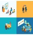 Presentation Partnership Job interview Business vector image