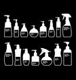 Cosmetics Bottle Packaging vector image