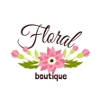 Floral boutique vector image
