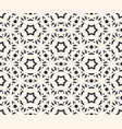 delicate seamless pattern elegant geometric stars vector image
