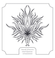 Marijuana and Abstract Pattern Black vector image