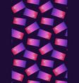 seamless pattern with flat carp koi flag vector image