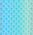 Blue squama pattern vector image vector image