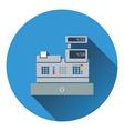 Cashier icon vector image