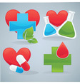life and health vector image
