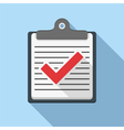 Check List Icon vector image