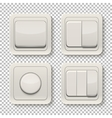 Set of switches vector image