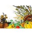 Thanksgiving Doodle vector image