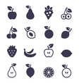 Icon fruit2 vector image vector image