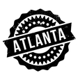 Atlanta stamp rubber grunge vector image