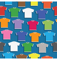 tshirt pattern vector image vector image