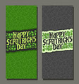 banners for patricks day vector image