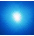 Radial background design Abstract blue art pattern vector image