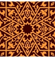 Arabian eastern seamless ornament vector image