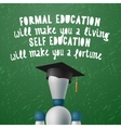 Training Development self education concept vector image